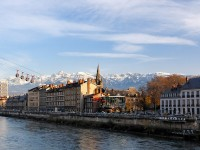 The most scenic cities in the French Alps