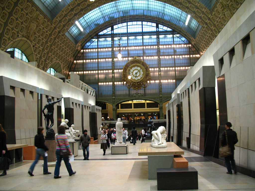Main hall of the Orsay Museum