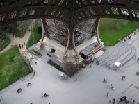 How to get on top of the Eiffel Tower