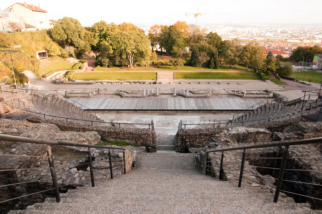 Ancient theatre of Lyon