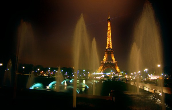 The Eiffel Tower by night, photo by agaw.dilim/Flickr
