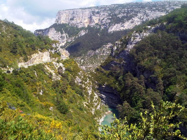 Verdon Gorge, photo by Josef Grunig/Flickr
