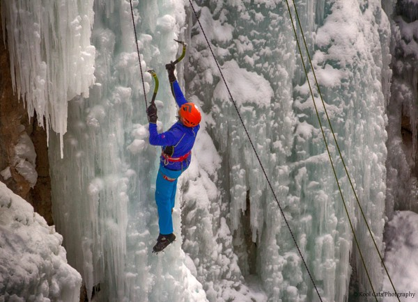 Ice climber katsrcool/Flickr