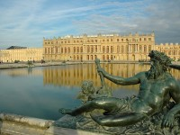The Palace of Versailles, view from the gardens en.wikipedia.org