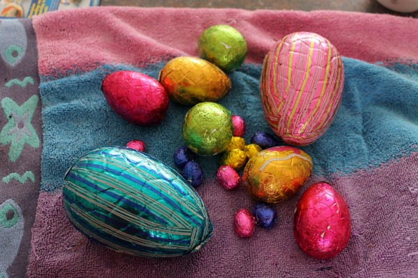 Easter chocolate eggs barbourians/Flickr