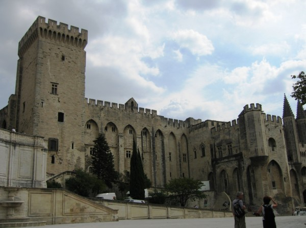 Part of the Papal Palace in Avignon MichelleWalz/Flickr
