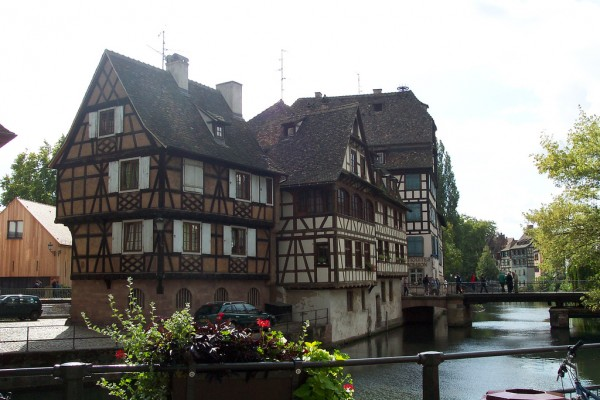 Petit France buildings, Strasbourg ChristinaT/Flickr