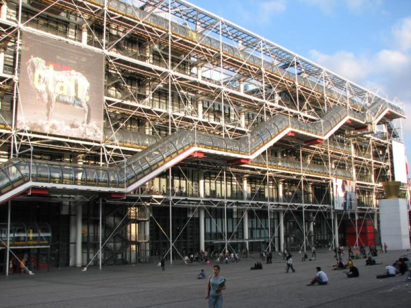 Centre Georges Pompidou asw909/Flickr