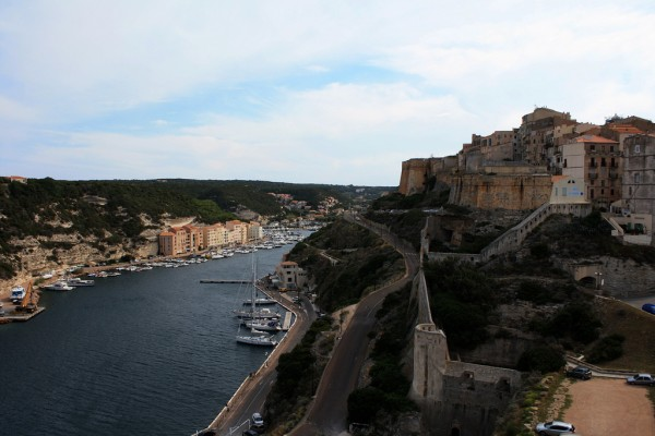 The Bonifacio Citadel (in the right) curti_ovid_poe/Flickr