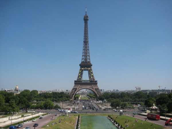 The Eiffel Tower Guillaume Cattiaux/Flickr