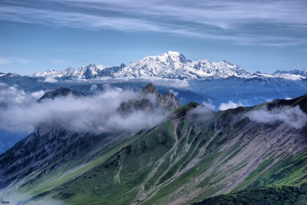 Mont Blanc JR Guillaumin/Flickr