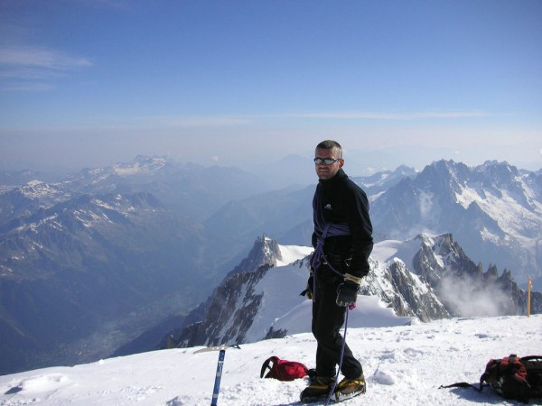 Mont Blanc summit mer de glace/Flickr