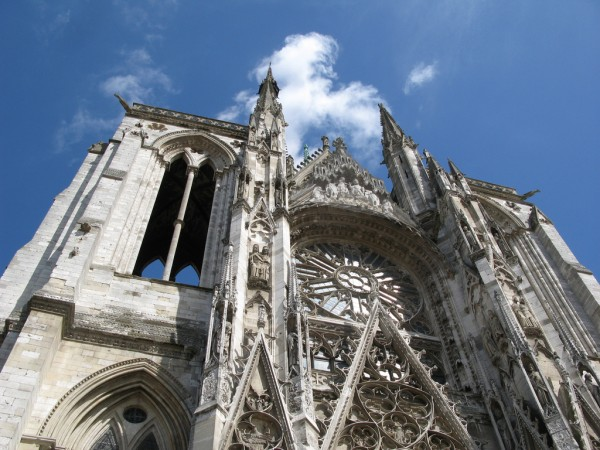 Portion of Rouen Cathedral ho visto nina volare/Flickr