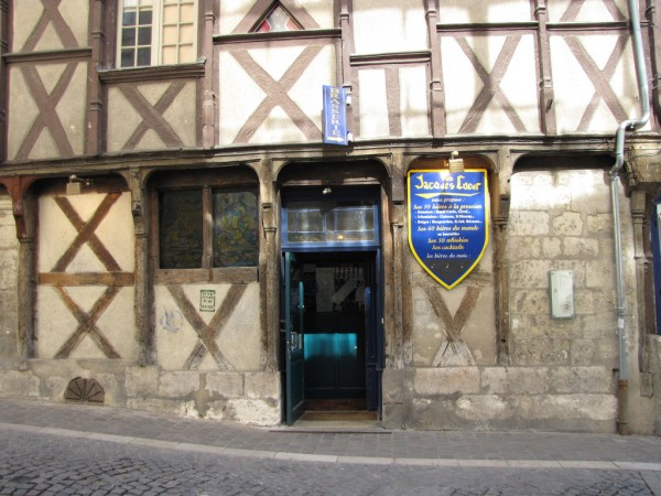 Half-timbered house in Bourges Shadowgate/Flickr