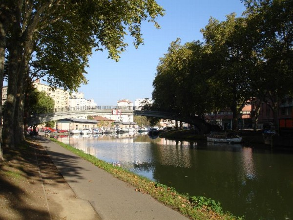 Canal du Midi, Toulouse Guillaume Paumier/Flickr