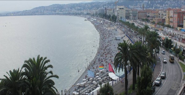 View over Nice beach EEPaul/Flickr